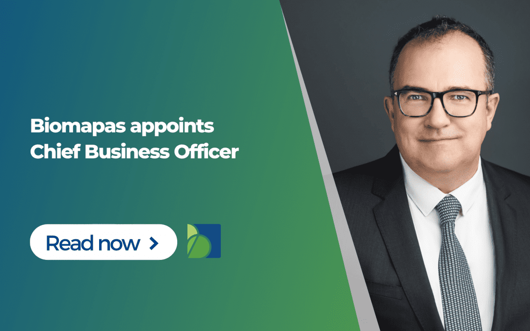 Biomapas appoints Chief Business Officer