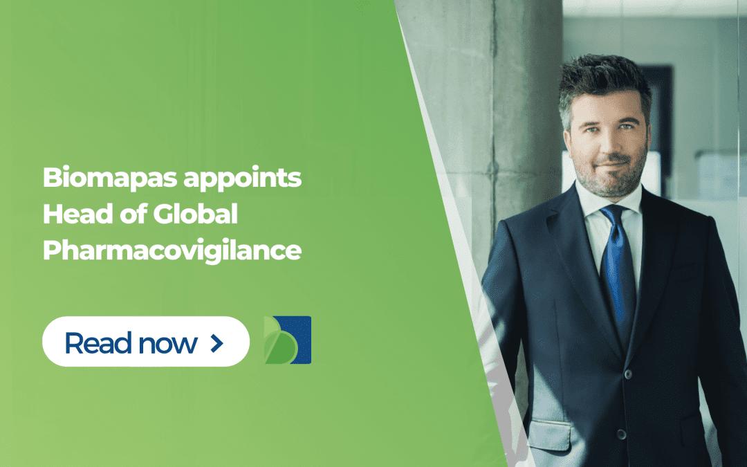 Biomapas appoints Head of Global Pharmacovigilance