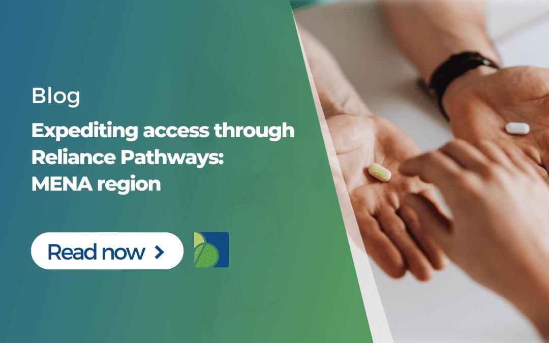 Expediting access through Reliance Pathways: MENA region
